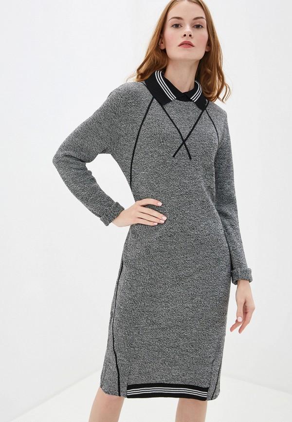 женское платье milana style, серое
