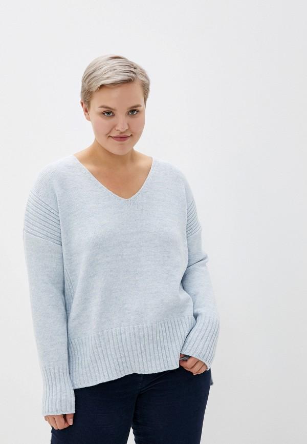 женский пуловер milana style, серый