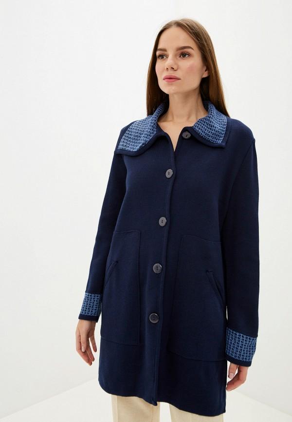 женский кардиган milana style, синий