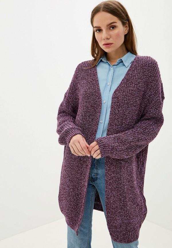 женский кардиган milana style, фиолетовый