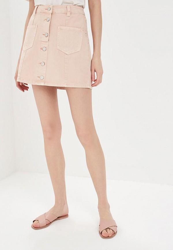 купить Юбка джинсовая Miss Bon Bon Miss Bon Bon MI045EWBDVX1 по цене 1320 рублей