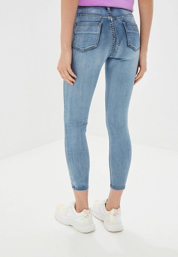 Фото 3 - женские джинсы Miss Bon Bon голубого цвета