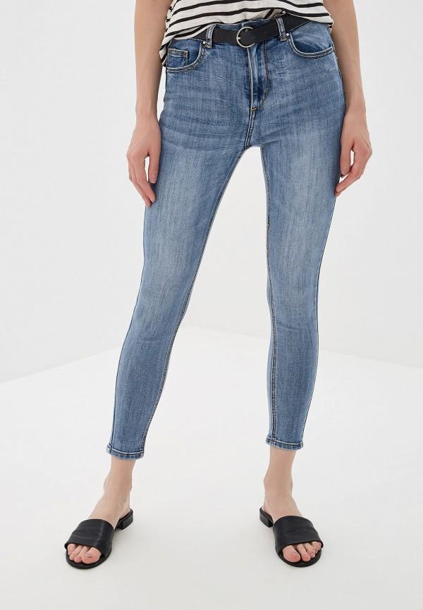 женские джинсы miss bon bon, синие