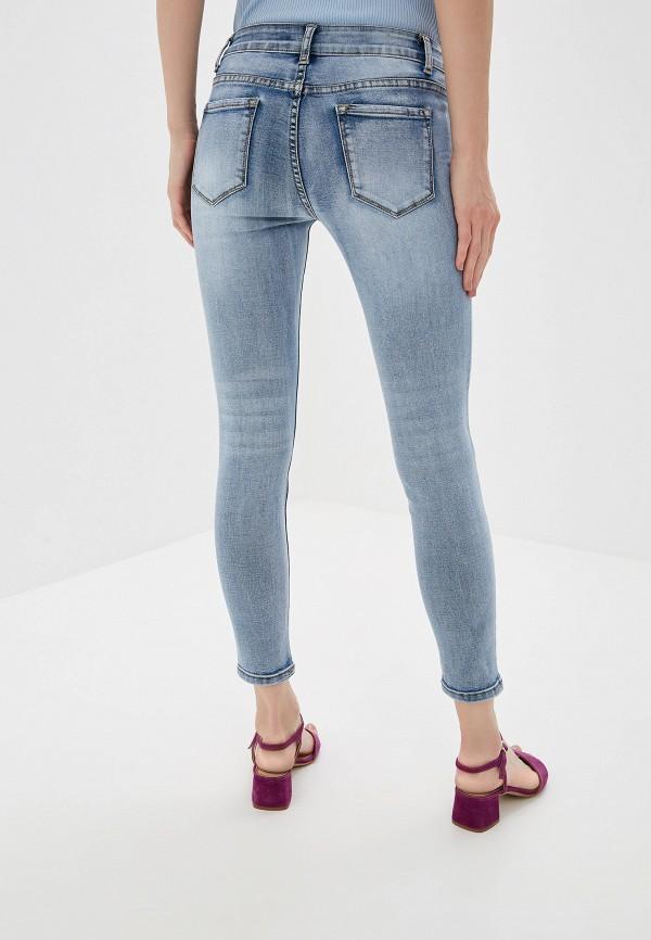 Фото 3 - женские джинсы Miss Bon Bon синего цвета