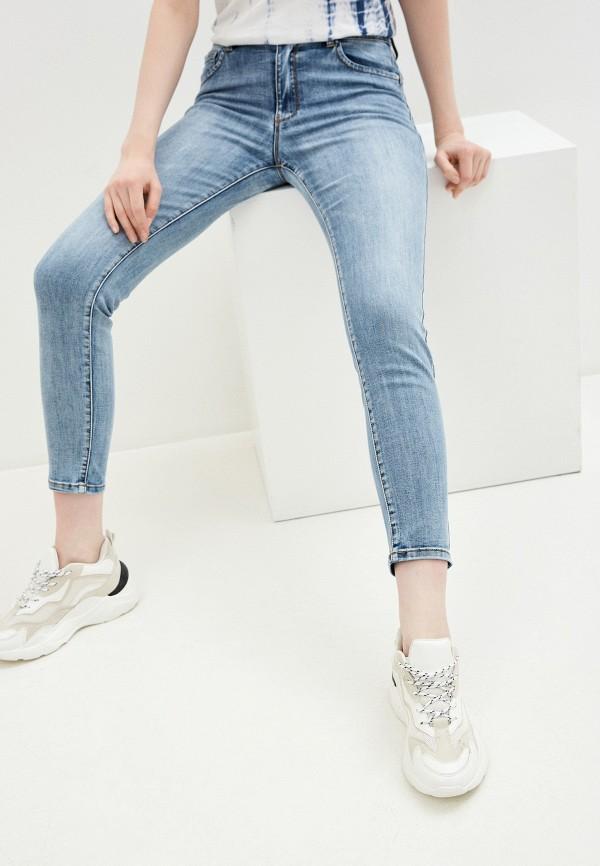 женские джинсы miss bon bon, голубые