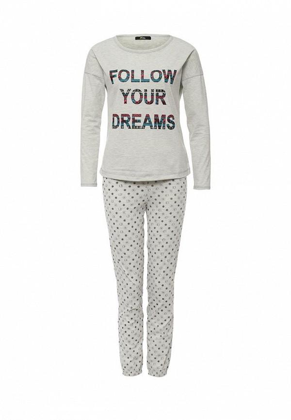 Пижама Mim Mim MI046EWHHY58 брюки mim mim mi046ewpsc45
