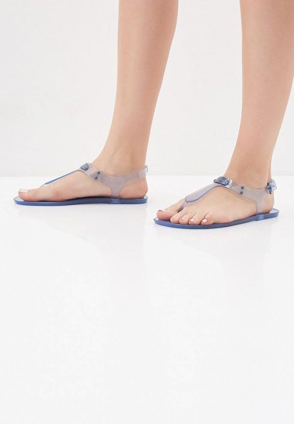 Фото 6 - женские сандали Michael Michael Kors синего цвета