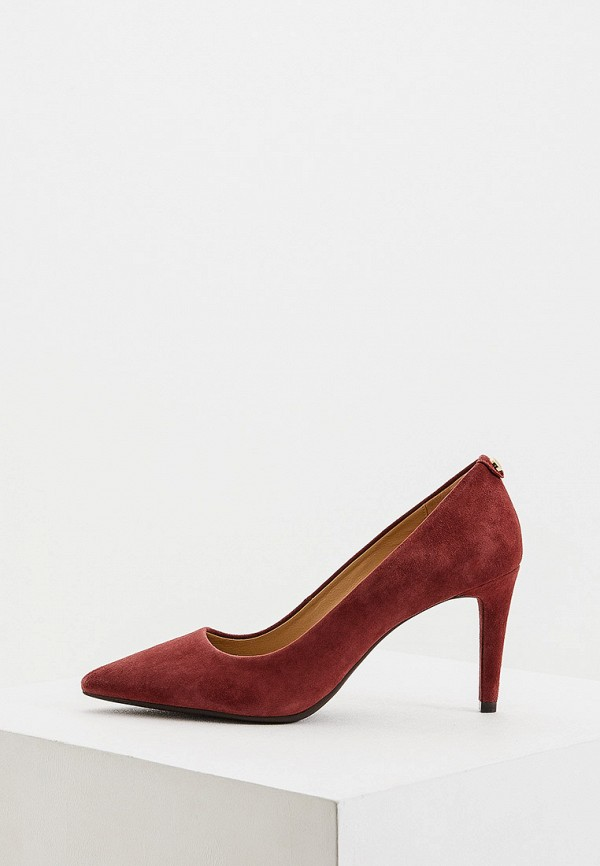 женские туфли michael kors, бордовые