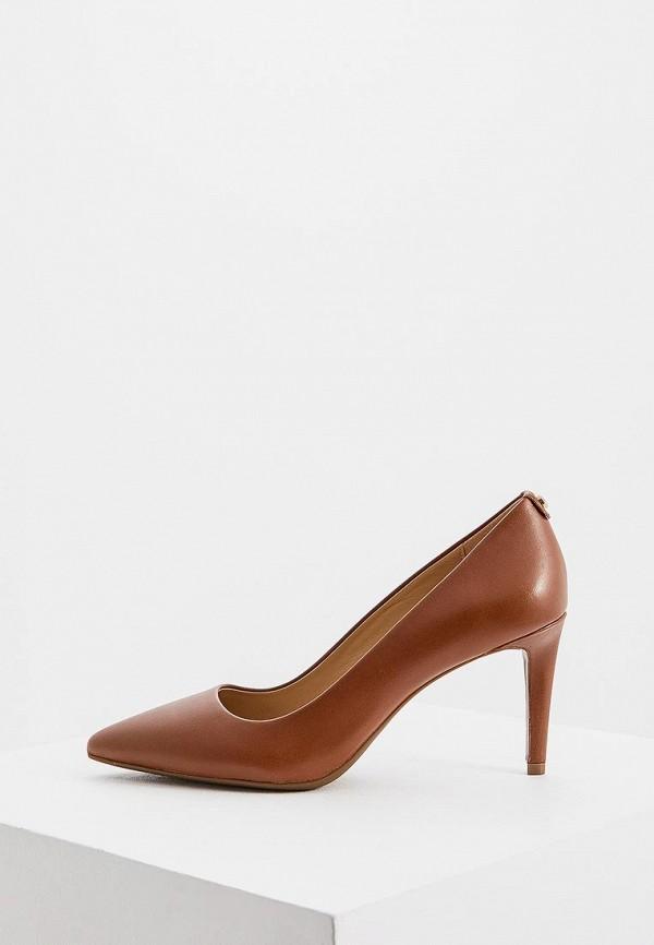 женские туфли michael kors, коричневые
