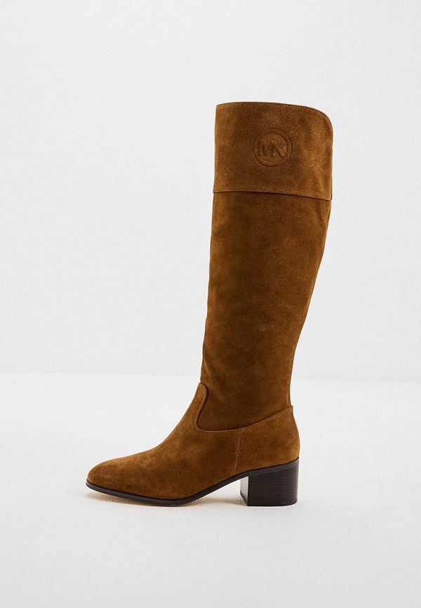 женские сапоги michael kors, коричневые