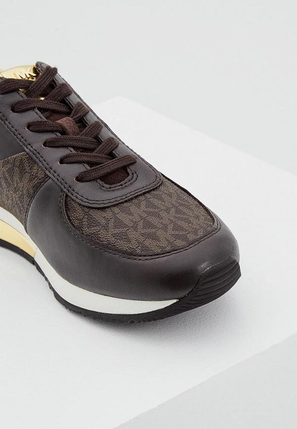 Фото 2 - женские кроссовки Michael Michael Kors коричневого цвета