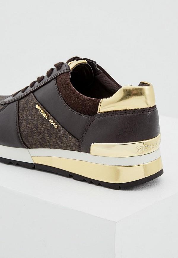 Фото 4 - женские кроссовки Michael Michael Kors коричневого цвета