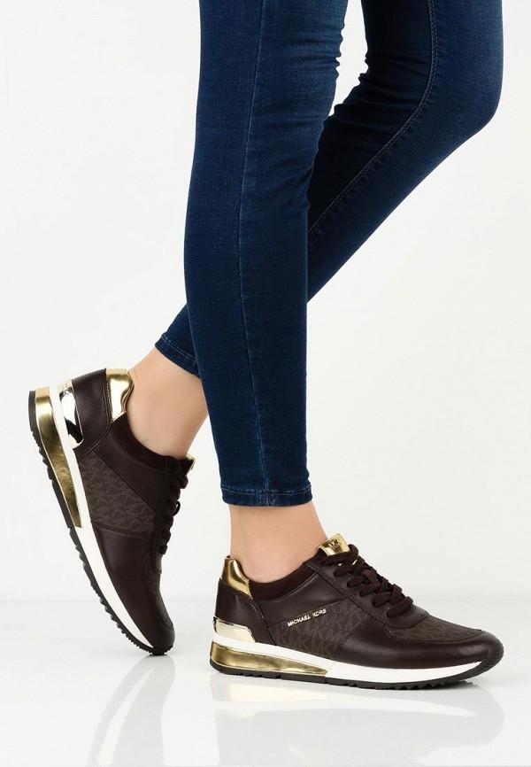 Фото 6 - женские кроссовки Michael Michael Kors коричневого цвета
