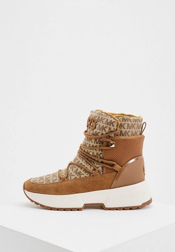 женские ботинки michael kors, коричневые