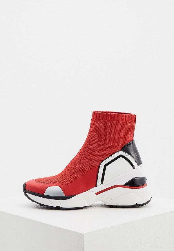 женские кроссовки michael kors, красные