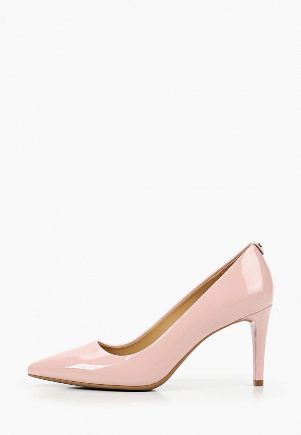 женские туфли michael kors, розовые