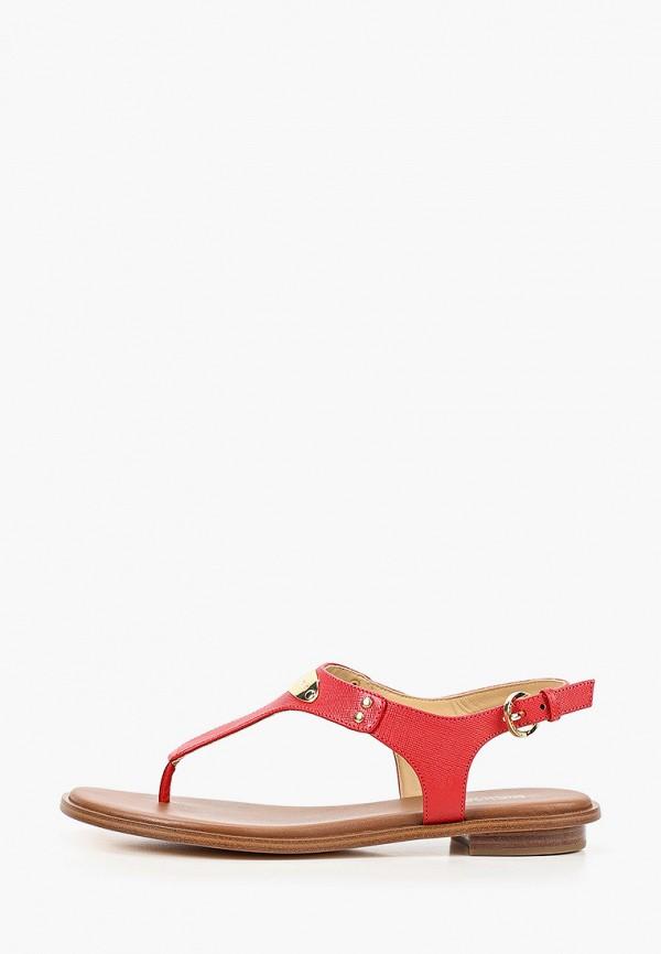 женские сандалии michael kors, красные