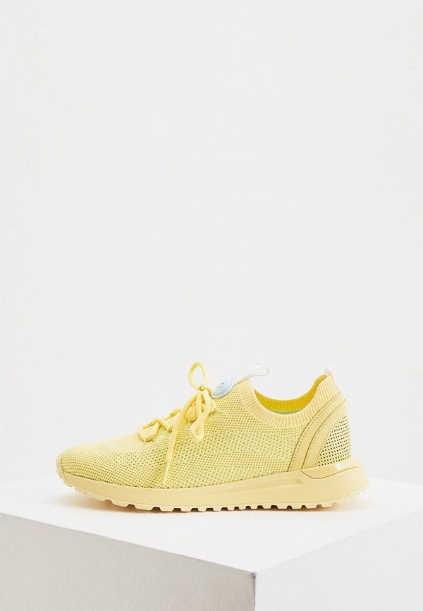 женские низкие кроссовки michael kors, желтые
