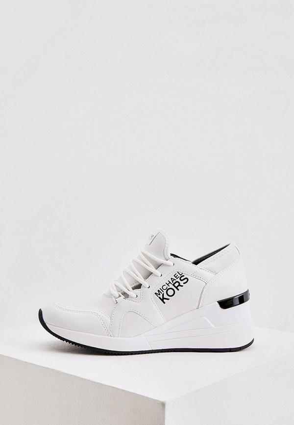 женские низкие кроссовки michael kors, белые