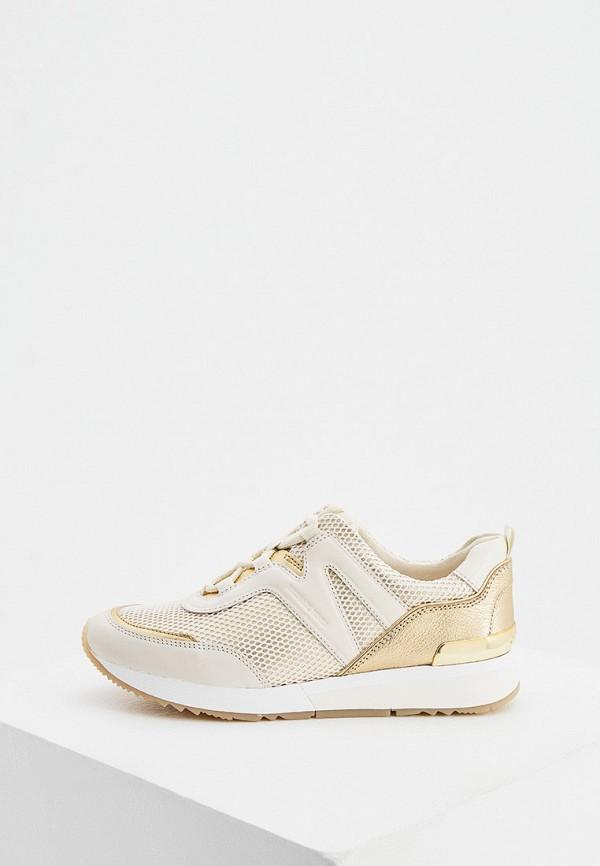 женские кроссовки michael kors, золотые