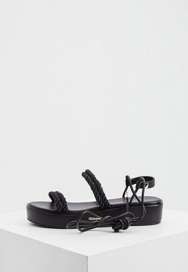 женские сандалии michael kors, черные