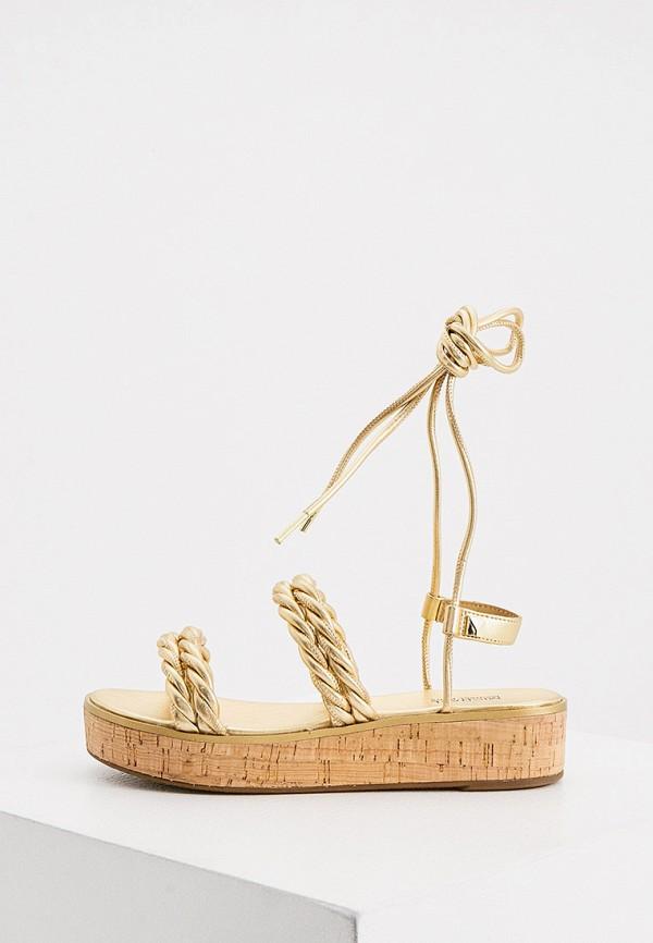 женские сандалии michael kors, золотые