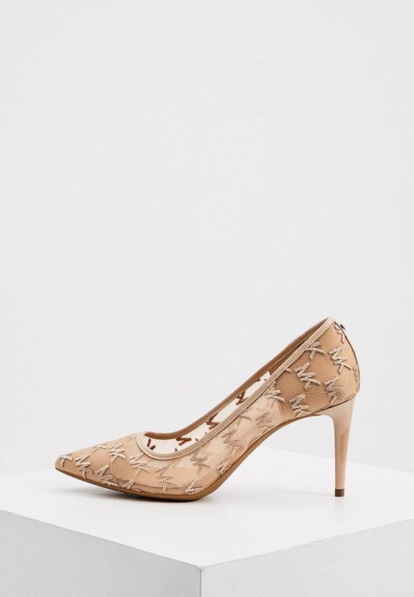 женские туфли-лодочки michael kors, бежевые