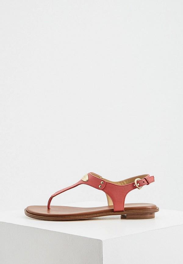 женские сандалии michael kors, розовые