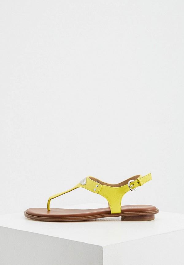 женские сандалии michael kors, желтые