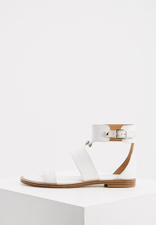 женские сандалии michael kors, белые