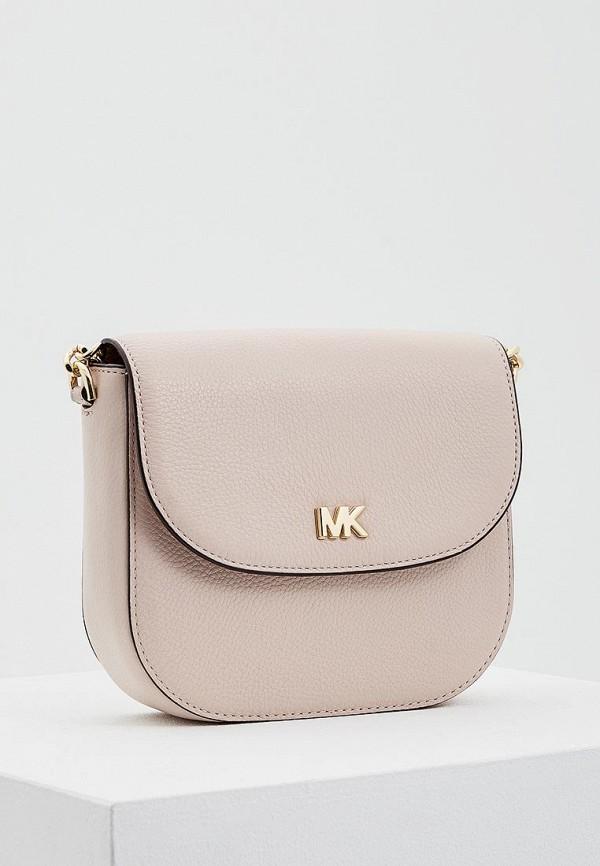женская сумка michael kors, розовая