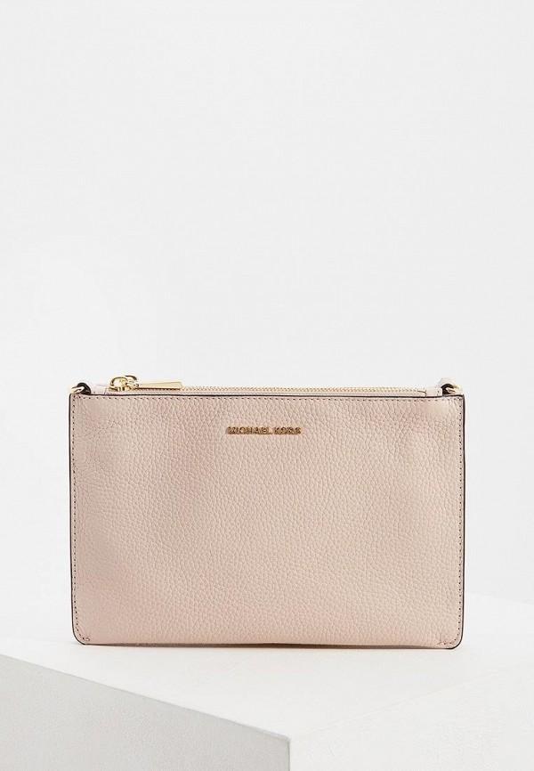 Фото - женскую сумку Michael Michael Kors розового цвета