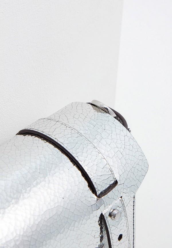 Фото 4 - женскую сумку Michael Michael Kors серебрянного цвета