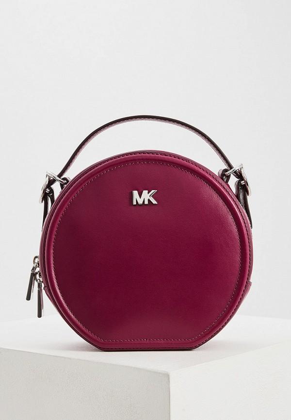женская сумка michael kors, фиолетовая