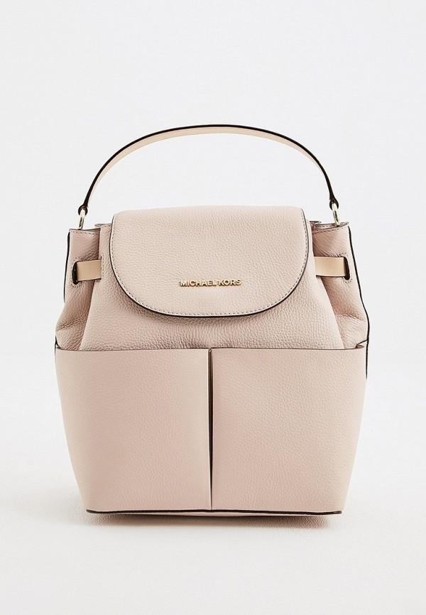 женский рюкзак michael kors, розовый