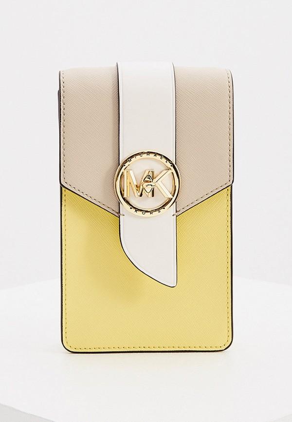 женская сумка michael kors, желтая