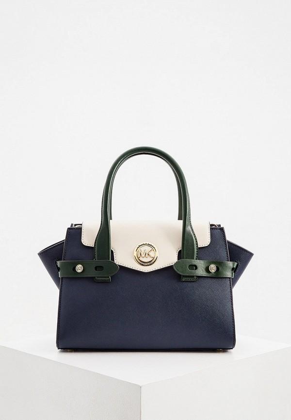 женская сумка michael kors, синяя