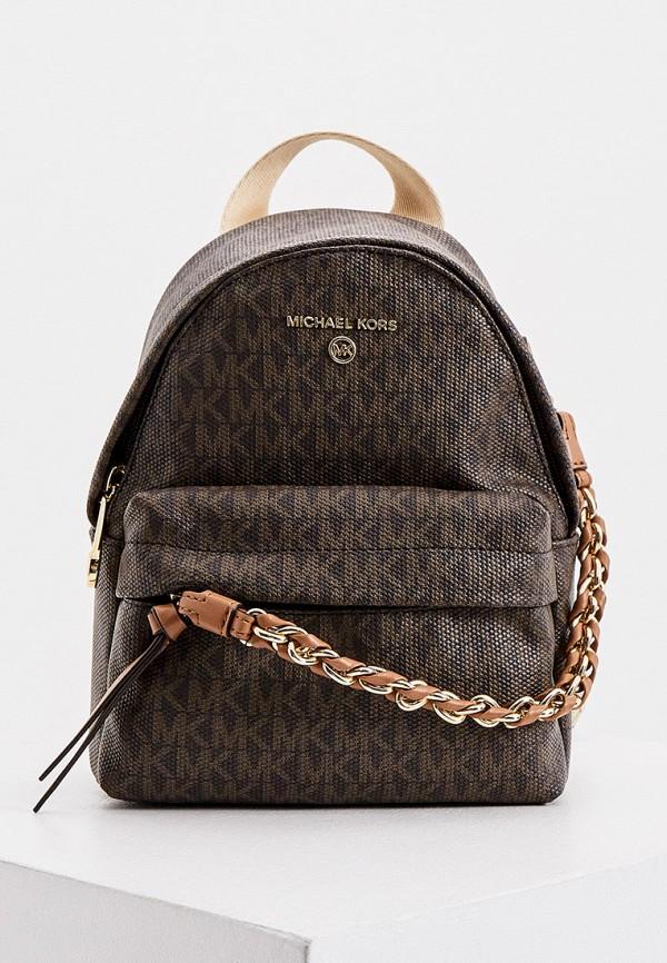 женский рюкзак michael kors, коричневый