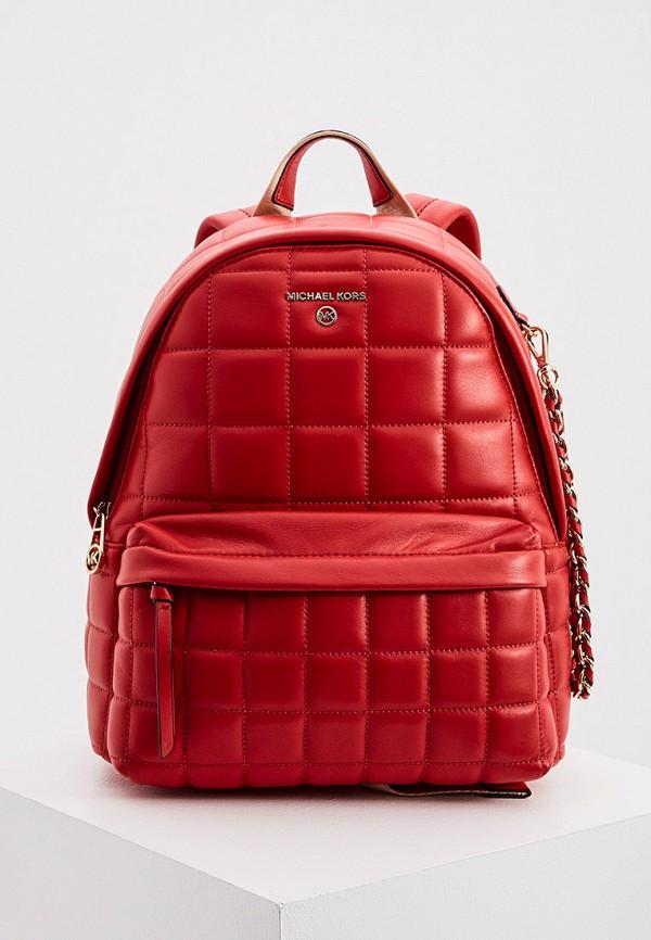 женский рюкзак michael kors, красный
