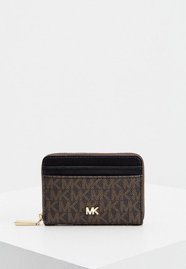 женский кошелёк michael kors, коричневый