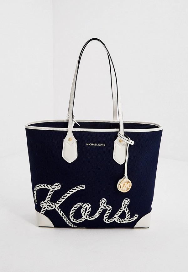 женский кошелёк-шоперы michael kors, синий