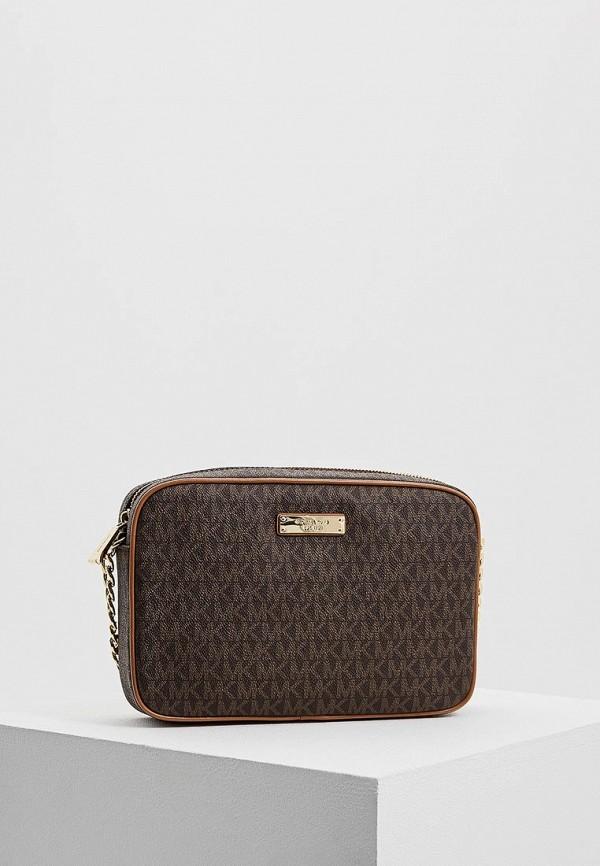 мужская сумка michael kors, коричневая