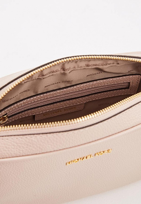 Фото 3 - женскую сумку Michael Michael Kors розового цвета