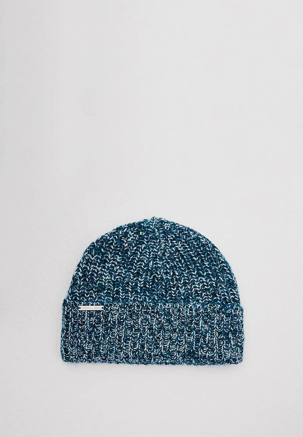 женская шапка michael kors, бирюзовая