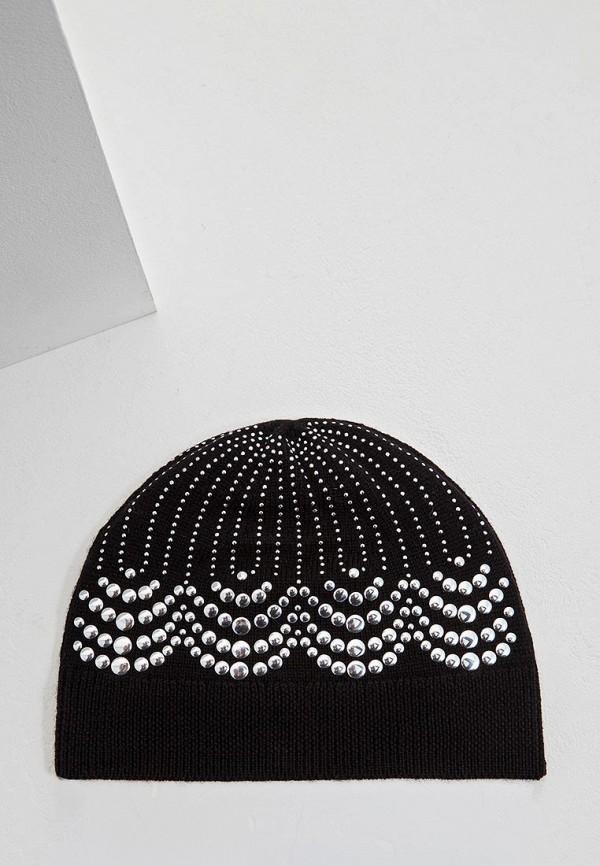 женская шапка michael kors, черная