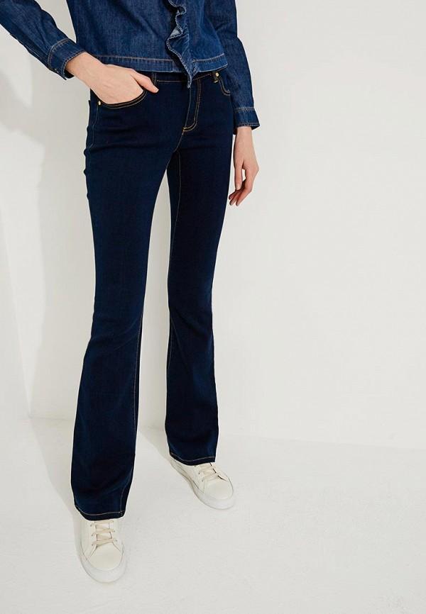женские джинсы клеш michael kors, синие