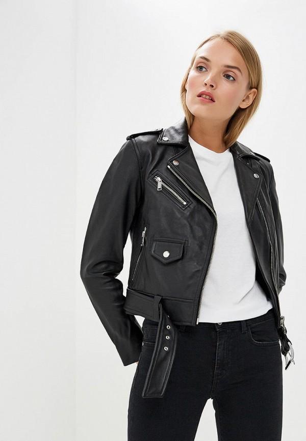 купить Куртка кожаная Michael Michael Kors Michael Michael Kors MI048EWBQLY9 по цене 50000 рублей