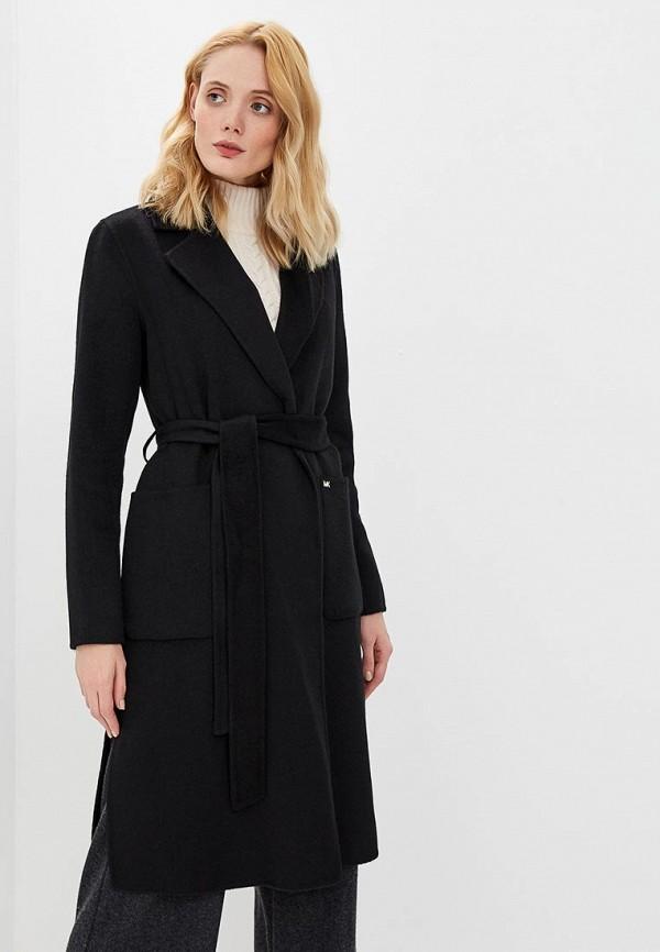 женское пальто michael kors, черное