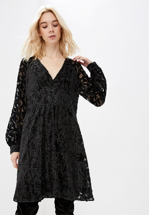 женское вечерние платье michael kors, черное