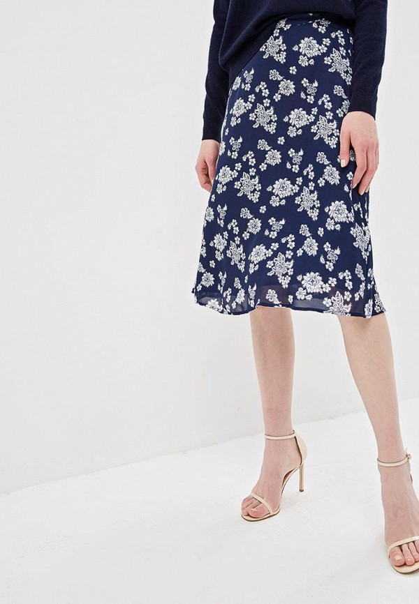 женская юбка michael kors, синяя
